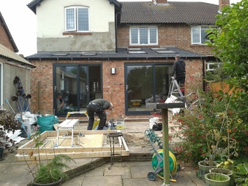 Extension in progress