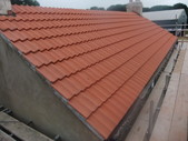 New Roof with Sandtoft Olympus clay tiles