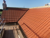 New roof with lead valley